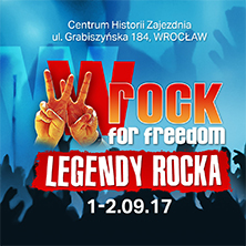 wROCK for Freedom - Legendy rocka - Bilety