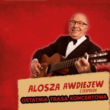 Alosza Awdiejew - Ostatnia trasa koncertowa - Bilety